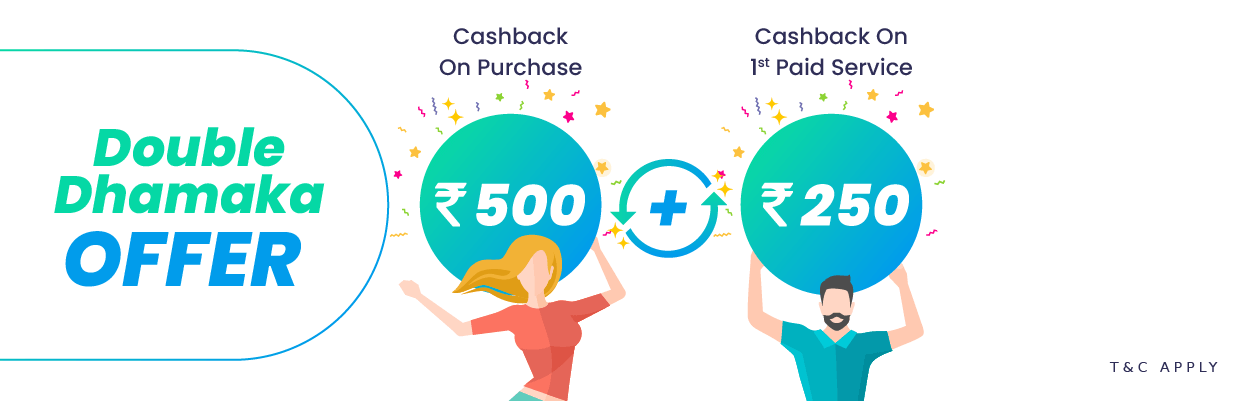 Double Dhamaka Offer and cashback on scooter purchase
